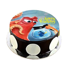 online delivery of Finding Dory photo cake delivery in kanpur