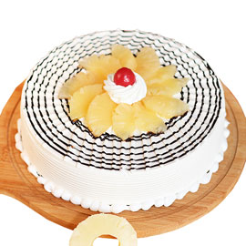Send online Five Star Pineapple cake delivery in kanpur