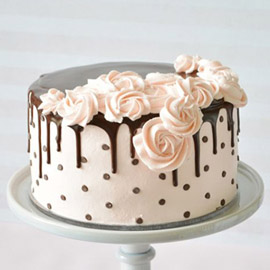 Floral Chocolate Cake kanpur