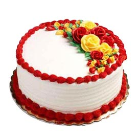 Send half kg forever for you designer cake from kanpurgifts.com-local bakery