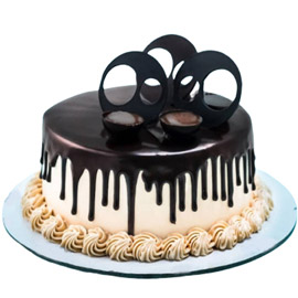 Send Half kg fresh black forest cake from kanpurgifts.com - local bakery