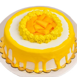 fresh Mango Cake Online Delivery in Kanpur