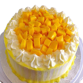 Fresh Mango Delight Cake Delivery Kanpur