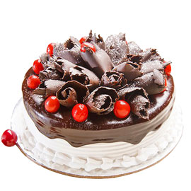 Send online German Blackforest cake delivery in kanpur