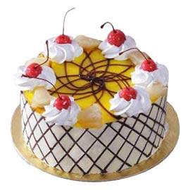 Buy Online Designer Pineapple Cake Kanpurgifts