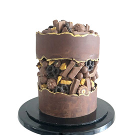 Kitkat Twist Cake delivery kanpur
