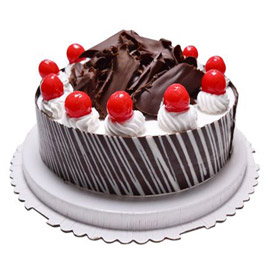 Send Half kg lavish black forest cake from kanpurgifts.com - local bakery