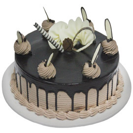24 hrs delivery of half kg chocolate delight cake delivery in kanpur