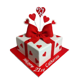 Love Box Cake Online Kanpur