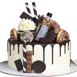 Kitkat Chocolate Designer Cake delivery in Kanpur