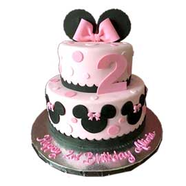Send online mickey mouse party cake delivery in kanpur