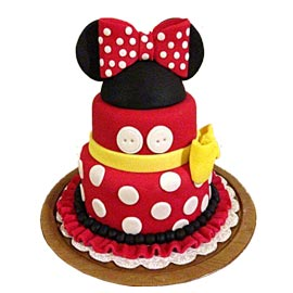 Send online minnie mouse cake delivery in kanpur