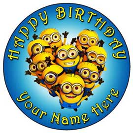 online delivery of minions photo cake online delivery in kanpur