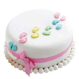 Buy online new arrival fondant cake delivery in kanpur
