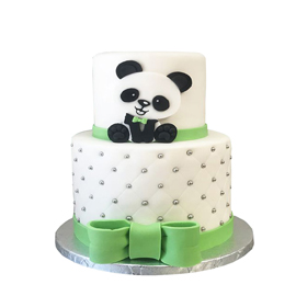 Panda Kids Cake Delivery in Kanpur
