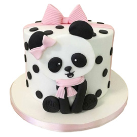 Send Pink Panda Cake in Kanpur