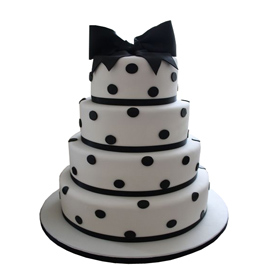 Send Premium Polka Party Cake in Kanpur