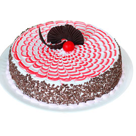 Send online Premium Strawberry cake delivery in kanpur