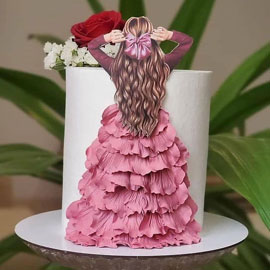 Princess Cakes Delivery in Kanpur