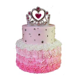 Order online princess party cake delivery in kanpur | kanpurgifts.com