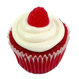 Buy online red velvet cup cake delivery in kanpur