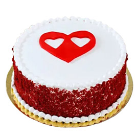 Send online Red Velvet Desire Cake delivery in kanpur