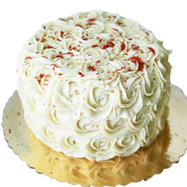 Send online Red Velvet Rose Cake delivery in kanpur