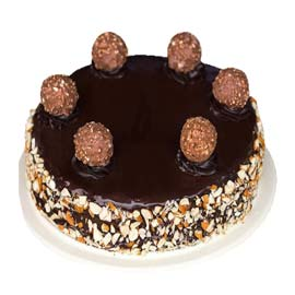 Order online rocher almond cake delivery in kanpur | kanpurgifts.com