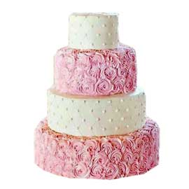 Send online roses party cake delivery in kanpur