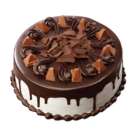 Send Half kg royal black forest cake from kanpurgifts.com - local bakery