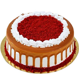 Send online Royal Red Velvet Cake delivery in kanpur