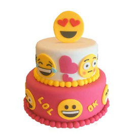 Send Online Smile Party Cake Delivery In Kanpur