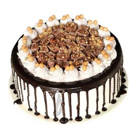 Send online snicker cake delivery in kanpur