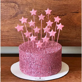 Sparkeling Star Cake delivery in kanpur