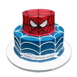 Send online spiderman cake delivery in kanpur