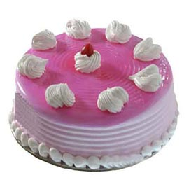 xpress delivery of half kg strawberry crush cake in Kanpur