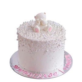Online Teddy Bear Cake Delivery Kanpur