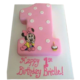 2 kg teddy girl 1st birthday cake midnight delivery in kanpur @ best cake shop