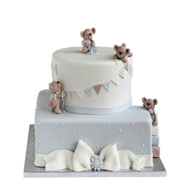 Teddy Kids Cake online delivery in Kanpur