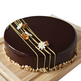 Tempting Chocolate Cake Kanpur