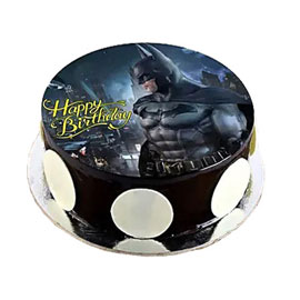 online delivery of The Batman photo cake delivery in kanpur