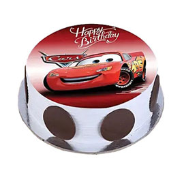 online delivery of The Cars photo cake delivery in kanpur