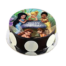 online delivery of Tinker Bell Fairies photo cake delivery in kanpur