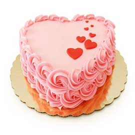 lovely valentine day heart shape love cake midnight cake delivery kanpur
