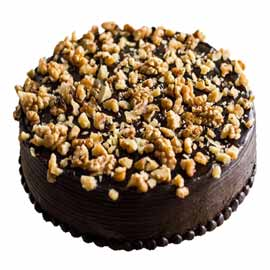 half kg walnut cake midnight cake delivery kanpur
