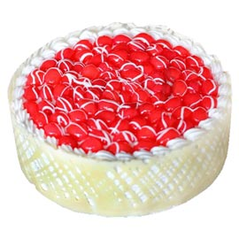 half kg white forest cake  midnight cake delivery kanpur