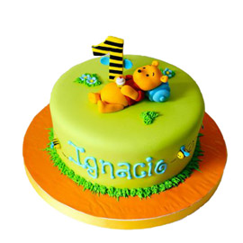 Winnie The Pooh Cakes  Delivery in Kanpur