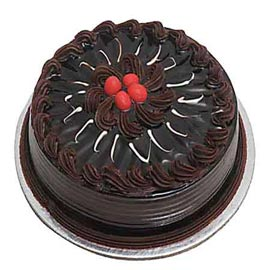 Urgent delivery of half kg choco truffle cake in kanpur